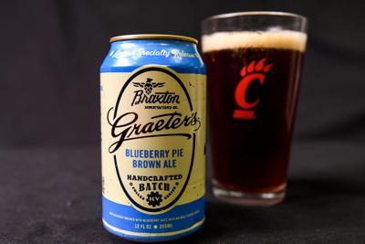 Braxton Brewing's Blueberry Pie Brown Ale