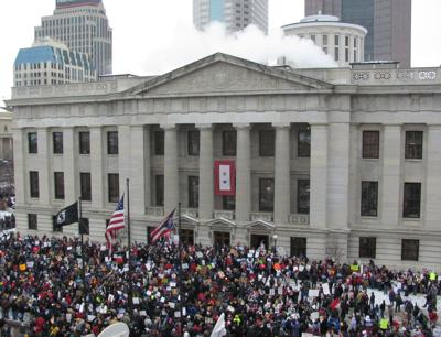 US NEWS OHIO-PROTESTS 3 OH
