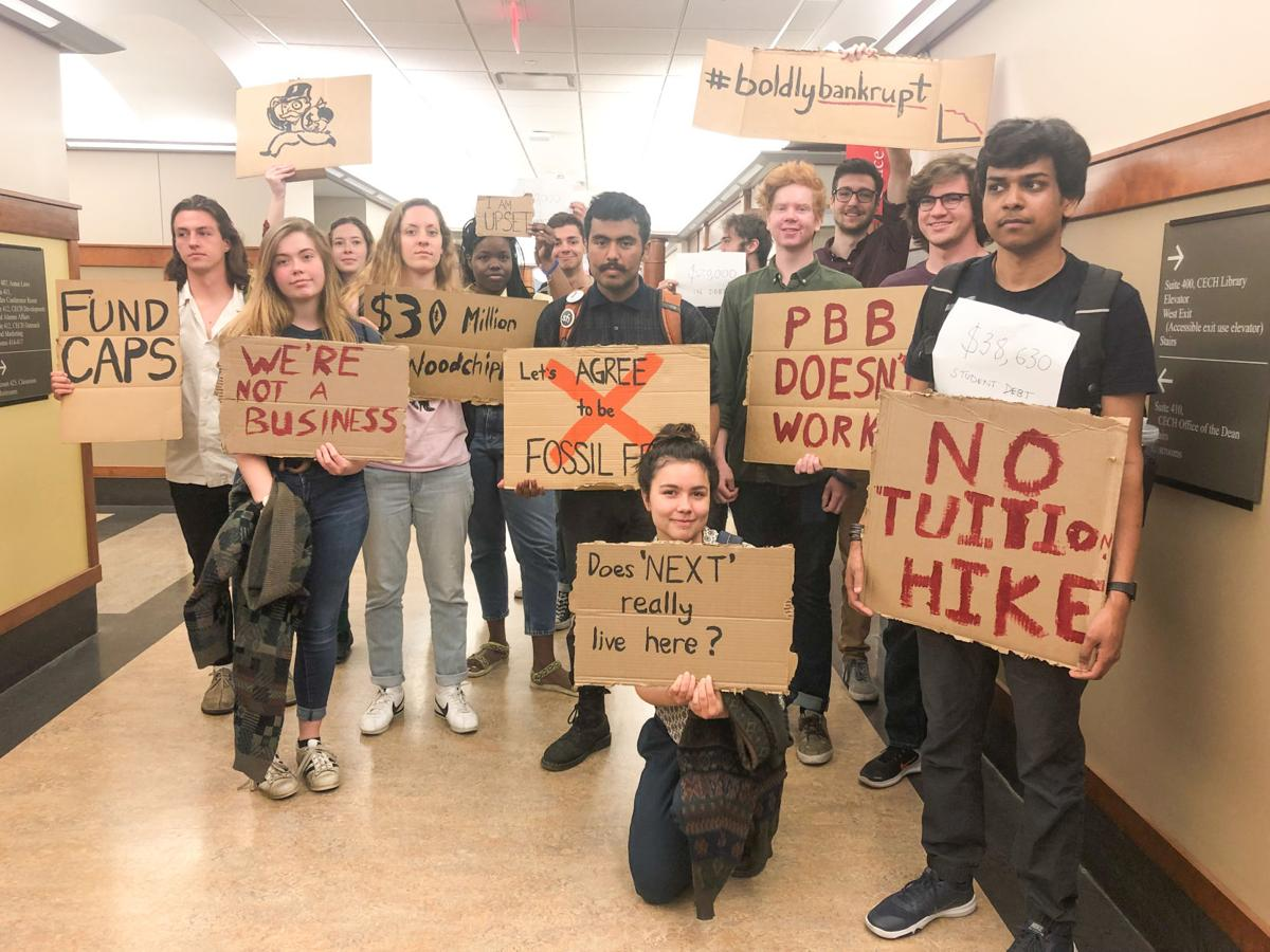 Tuition Hike Protest