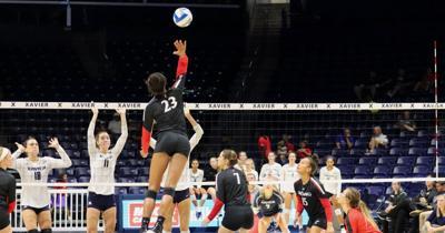 Volleyball versus Xavier