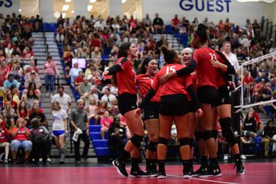 UC women's volleyball