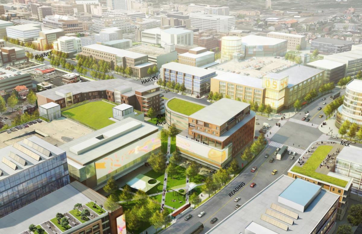 Uptown Innovation Corridor Rendering