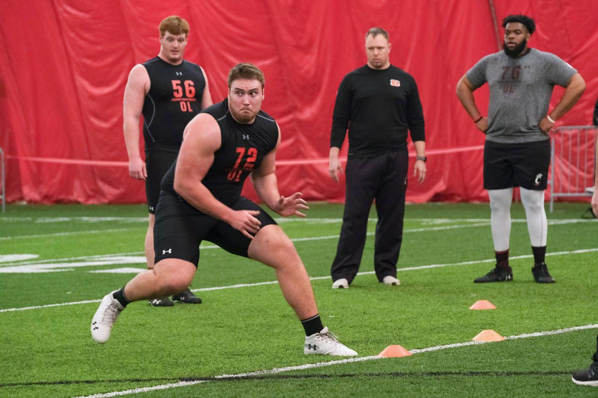 UC football Pro Day 2019 - Campbell