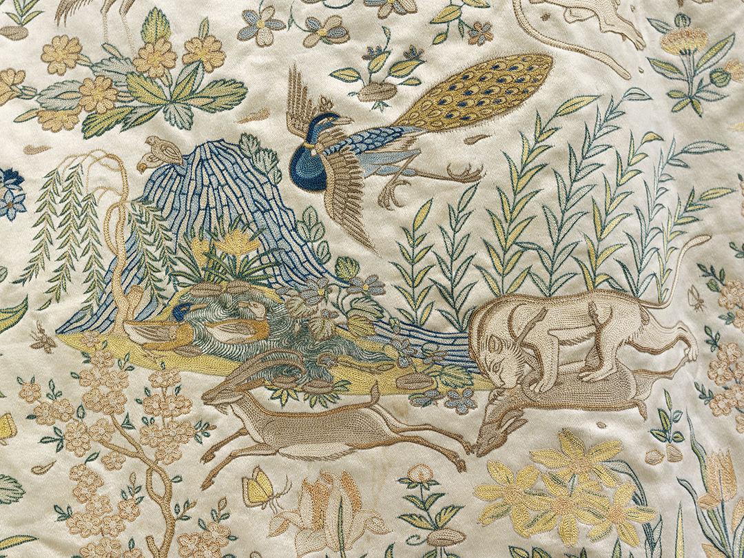 Fabric of Indian at the Cincinnati Art Museum