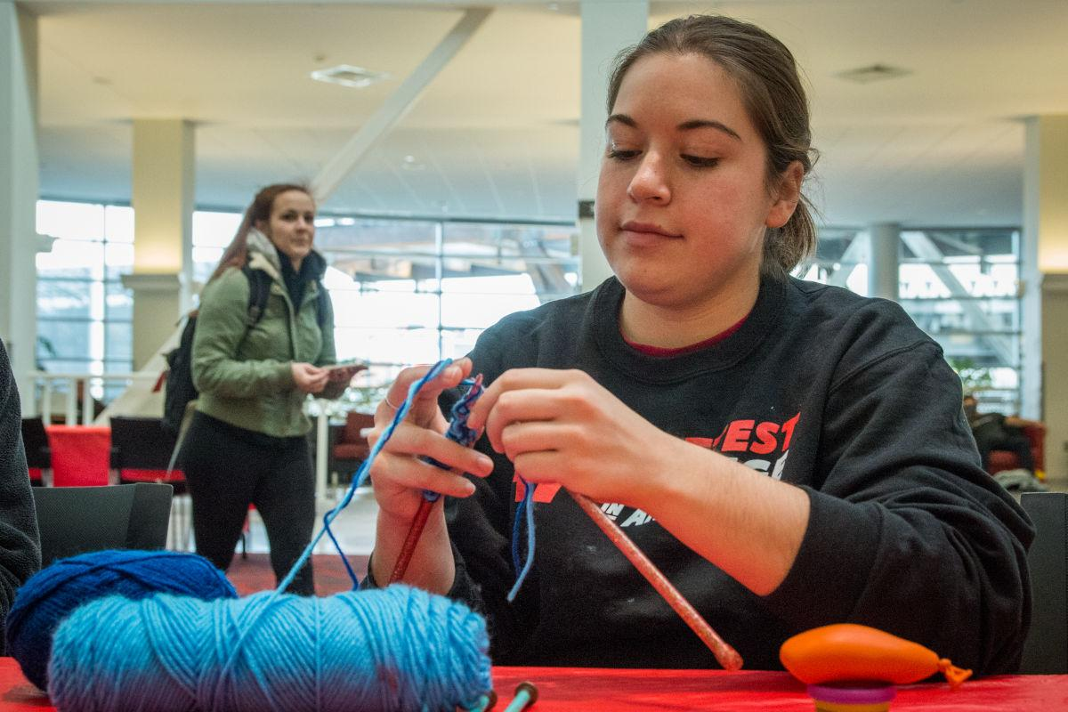 Students use creative outlets to destress before finals