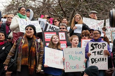 Anti-Gun Violence Rally