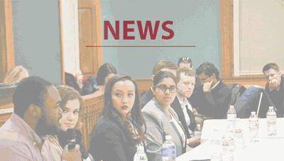 File Art: News Students Debate