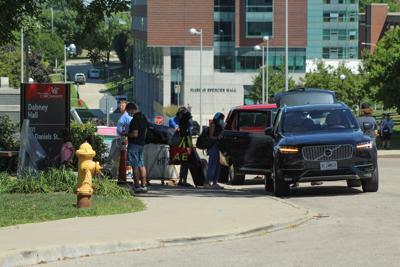 Students move in during coronavirus