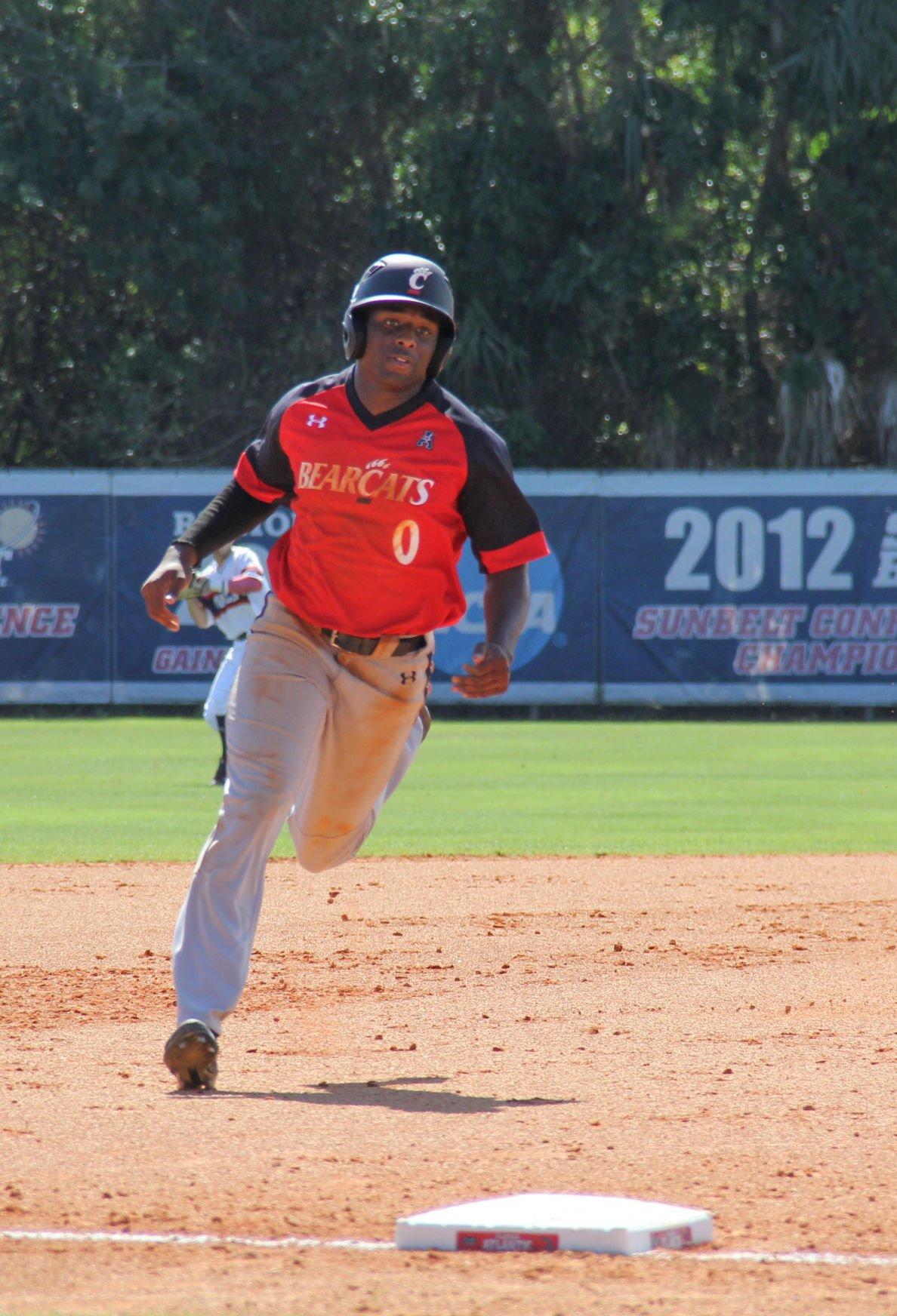 UC baseball Jeremy Johnson