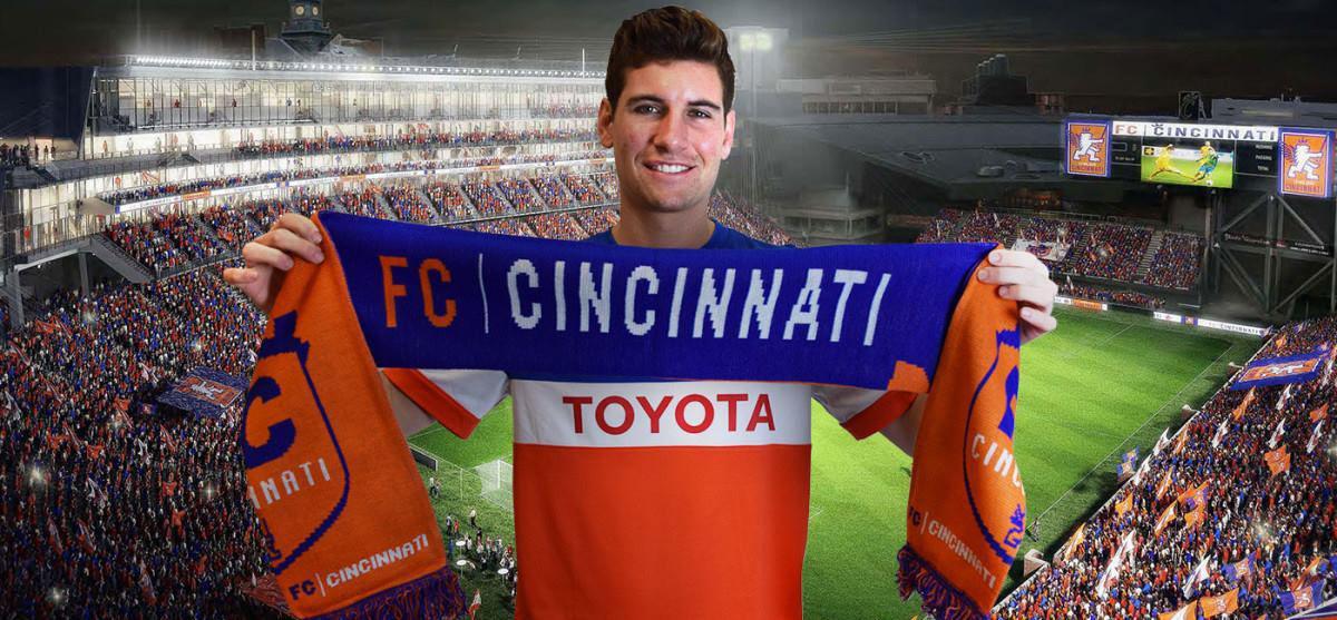 Futbol Club Cincinnati's Stevenson Discusses Upcoming