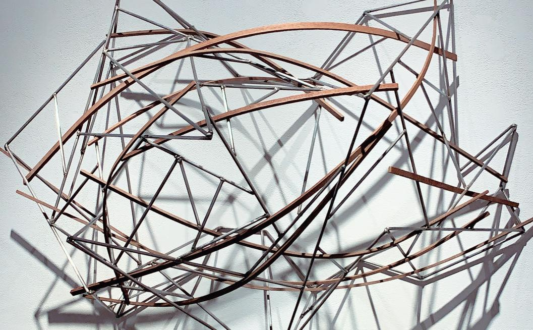 DAAP student-created sculpture featured in local gallery