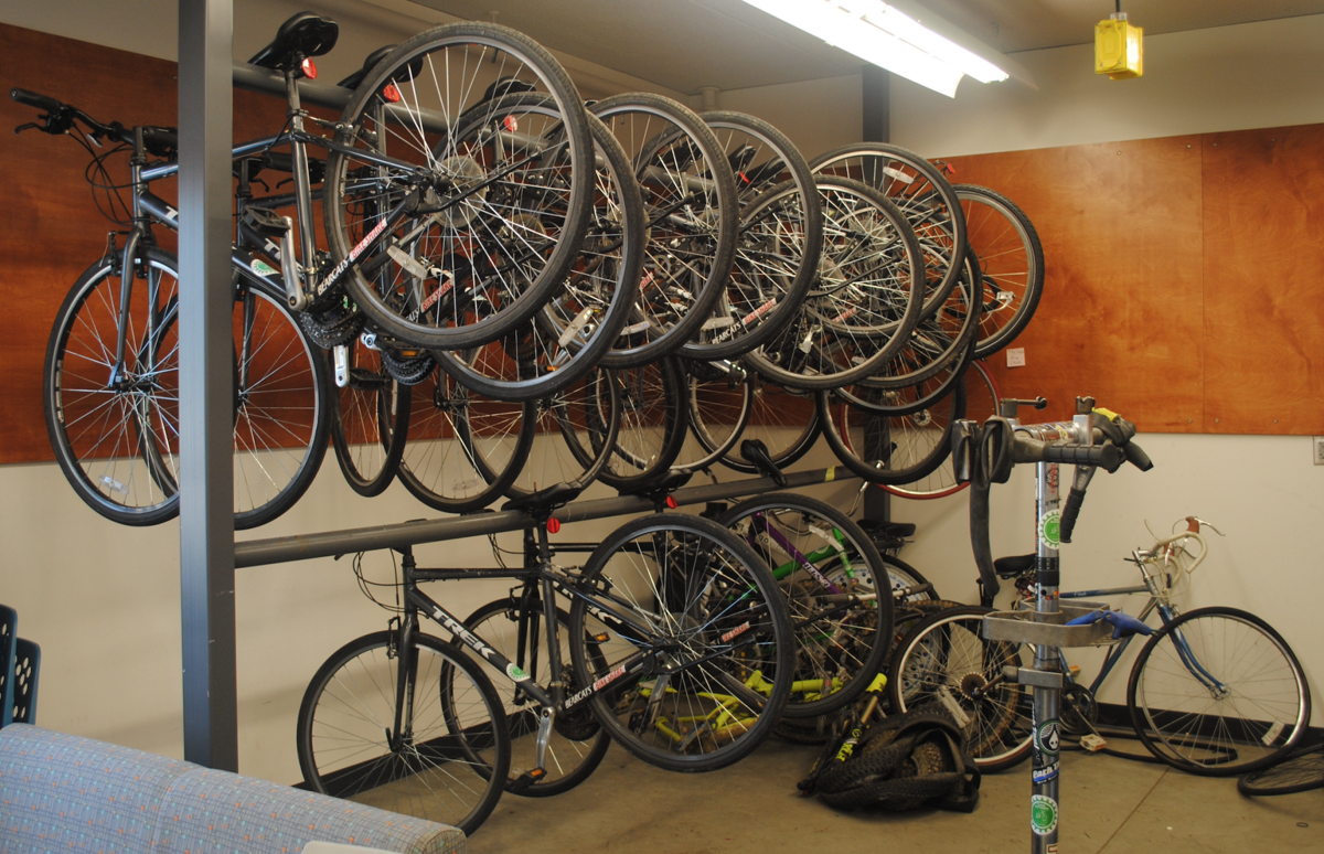 UC Bike Kitchen Bikes