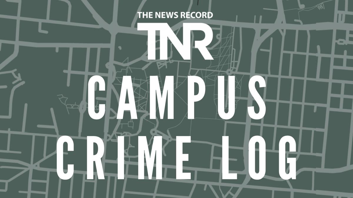 Campus crime log | Sept. 12 – 18