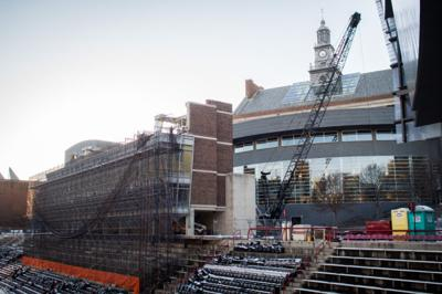 Nippert Stadium renovations underway, west concourse closed to foot traffic