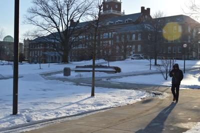 Snow at McMicken College