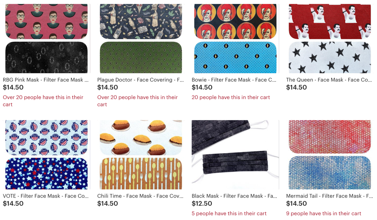 9 local mask-selling Etsy shops for all your pandemic needs