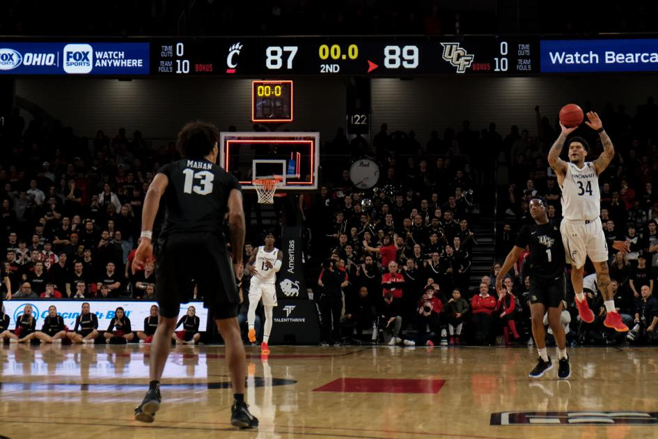 UC men's basketball: Bearcats stunned by UCF in double overtime