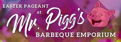 "Kidz Praize to perform ""The Easter Pageant at Mr. Pigg's Barbeque Emporium"""