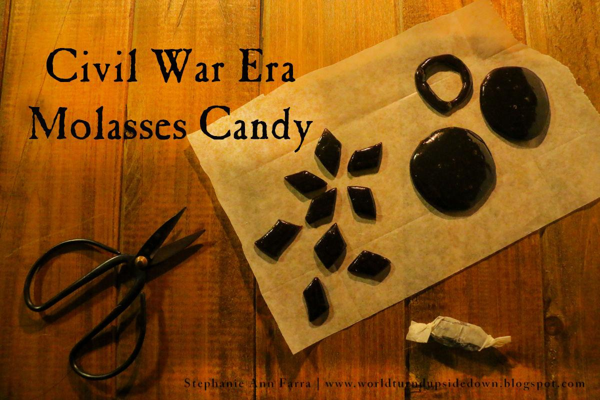 Civil War Era Molasses Candy