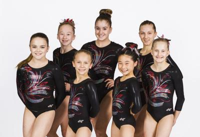 Stacey's Gymnastics Team ICON competes in Missouri State Championships