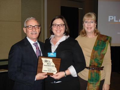 Crider Health Center receives award for providing high-quality healthcare