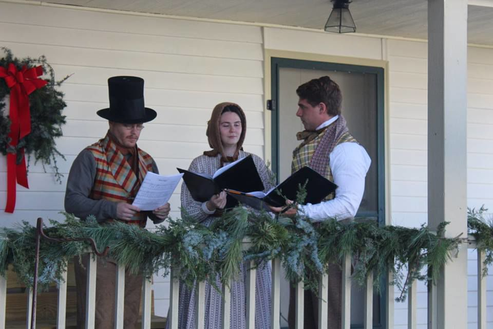 Christmas at the Generals Longstreet Museum in Russellville, TN