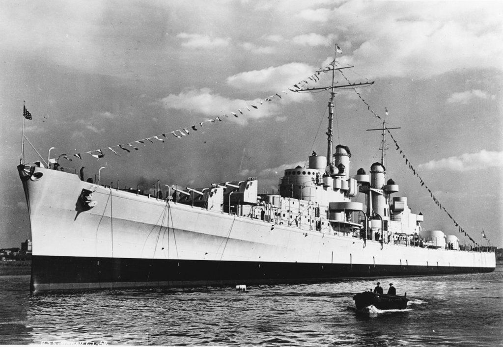 Wreckage of ship blown apart in WWII found, offering closure