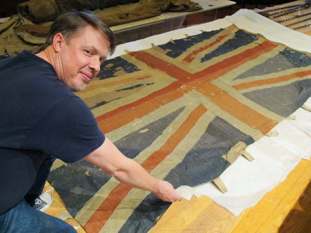 Navy rediscovers captured flags hidden for nearly 100 years