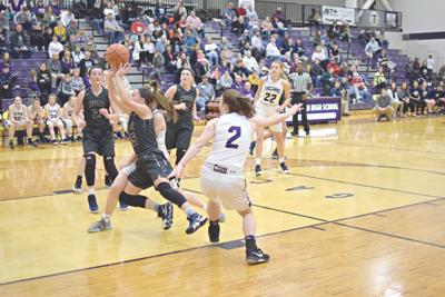 Troy's girls win over Holt despite staunch defense by Lady Indians
