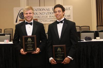 National Football Foundation scholarships awarded to two area students