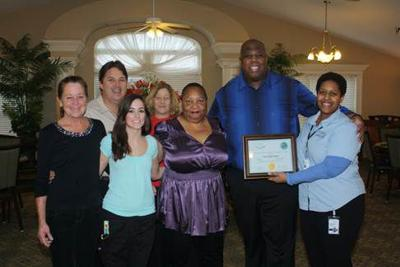 Senior living company receives high honor from Health Department