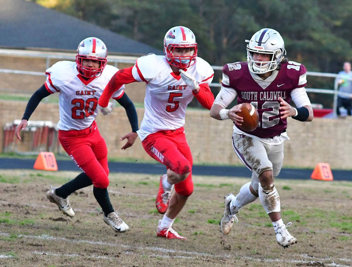 Spartans' run game overwhelms St. Stephens