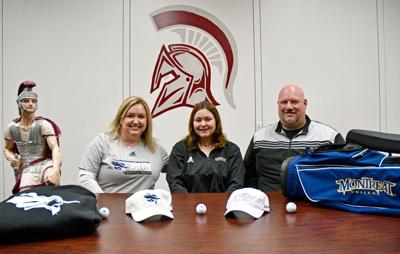 South Caldwell's Hall signs with Montreat