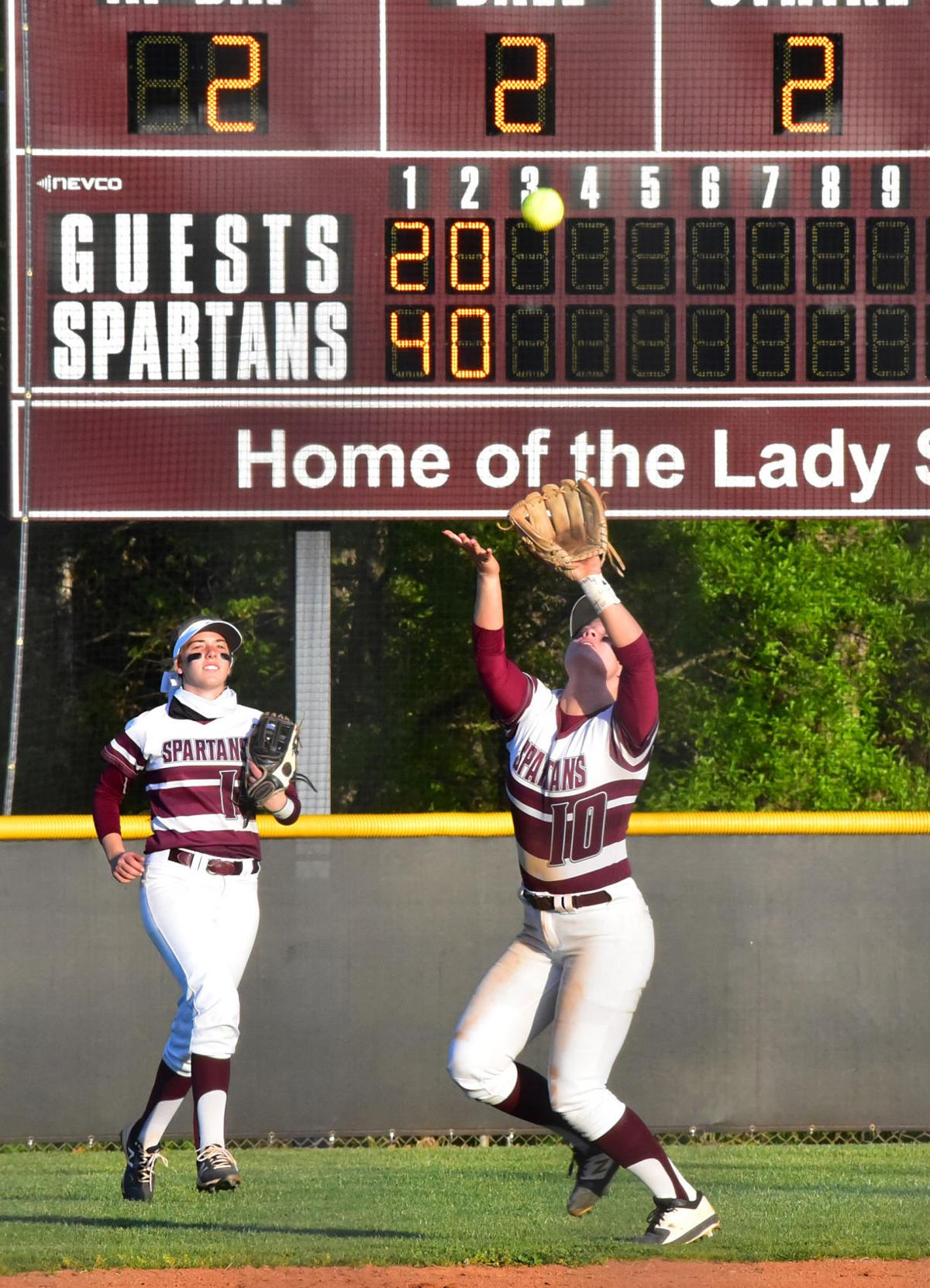 Becker's blast pushes Spartans past Pioneers