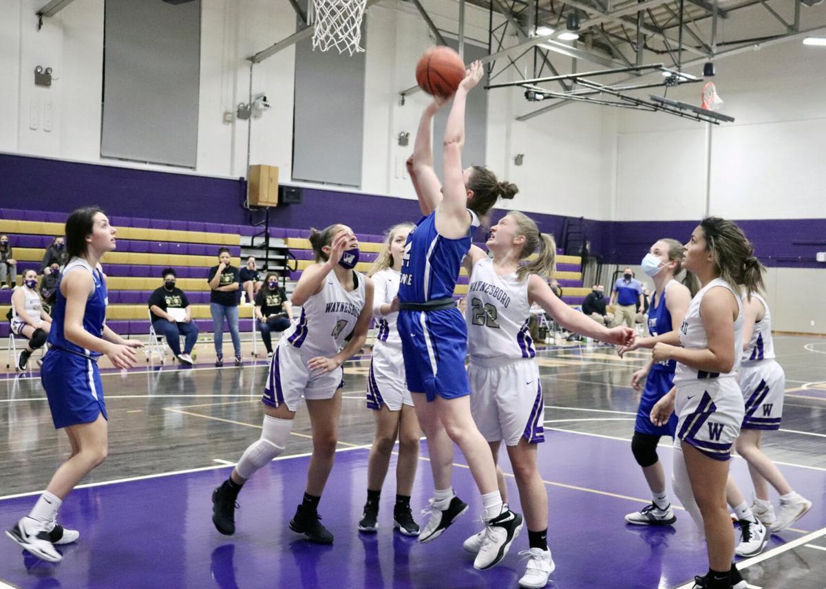 Waynesboro girls basketball team hangs with Fort for one quarter in  lopsided loss | Sports News | newsvirginian.com