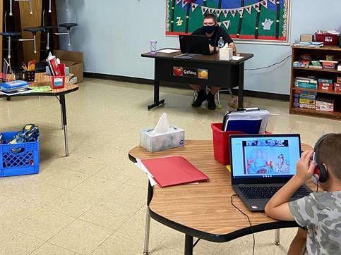 Virtual learning at Wenonah