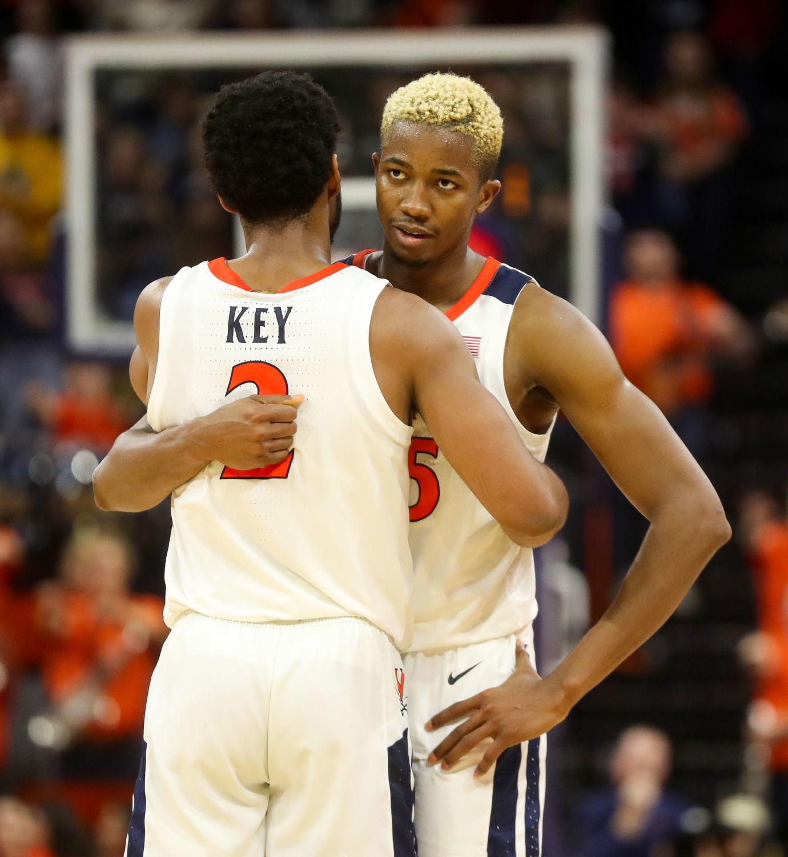 Braxton Key Virginia Cavaliers Final Four Basketball Jersey - White