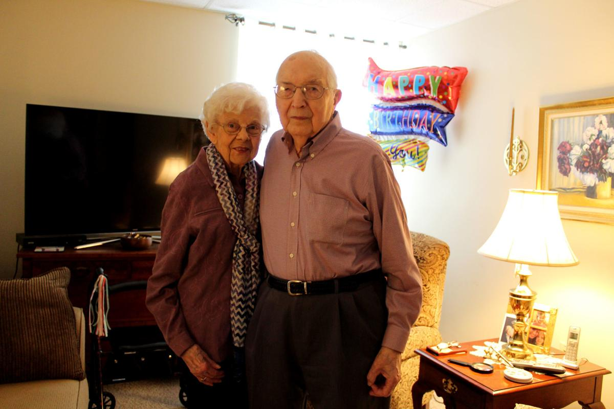 Earl and Phyllis Burcham