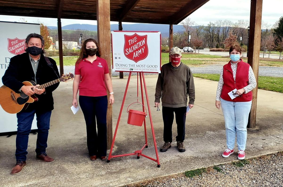 Salvation Army 2020 Red Kettle Campaign kick-off