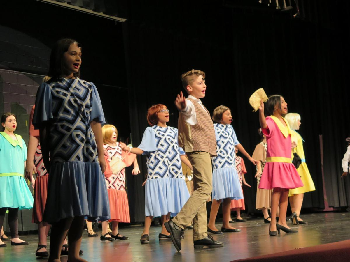 Kate Collins Middle's theatre company roars into the 1920s: First musical production at school is set in the Big Apple