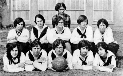 Weyers Cave girls basketball