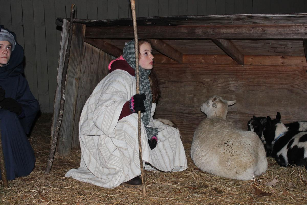 Live actors and live animals provide an immersive experience at Bethlehem Village