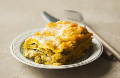 Recipe of the Day: Pumpkin Kale Lasagna