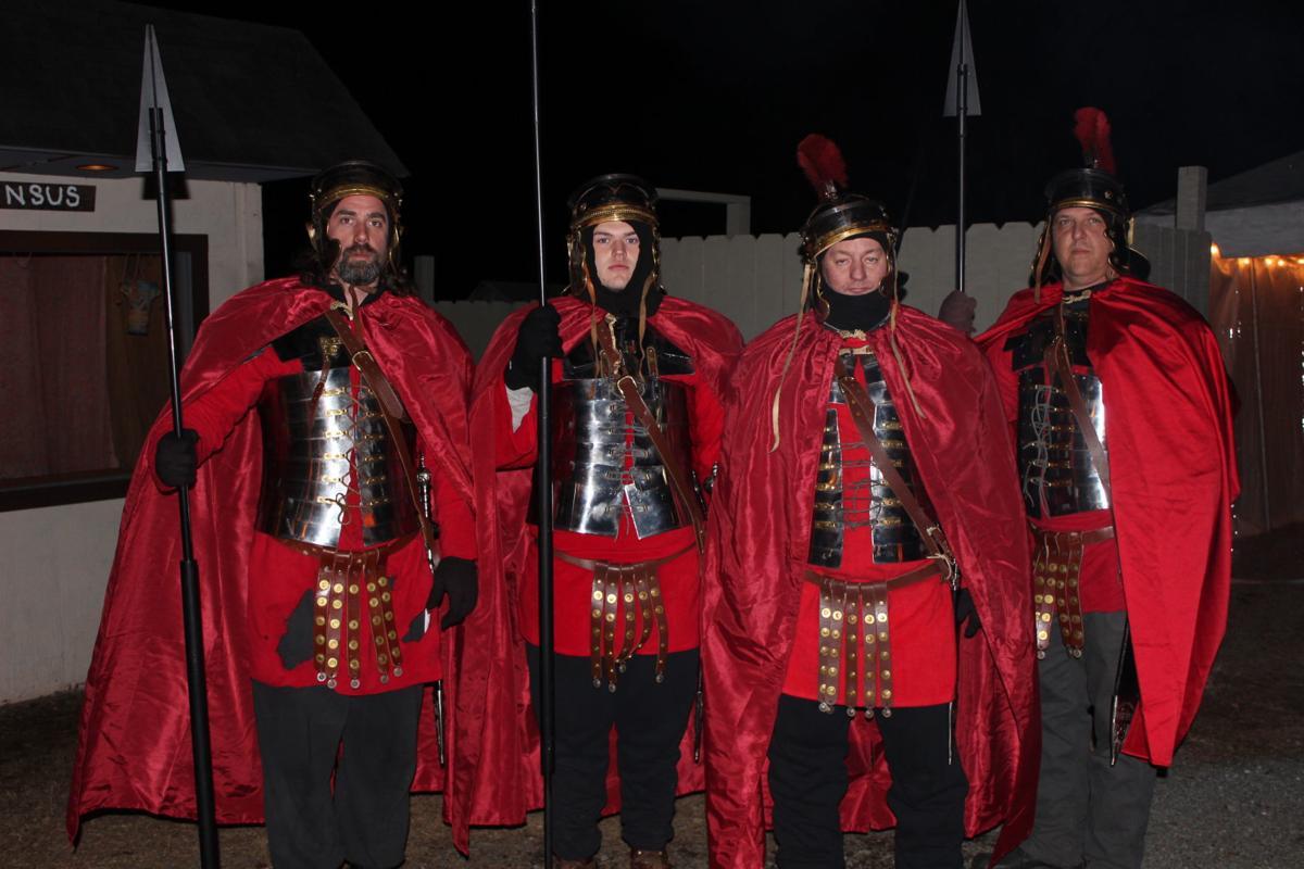 Roman guards at Bethlehem Village
