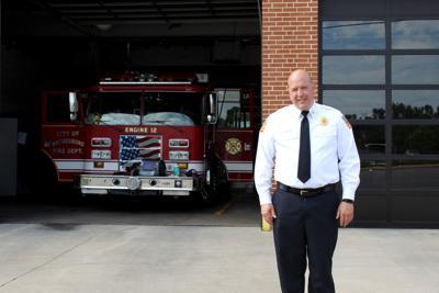 Waynesboro Fire Chief Andrew Holloway