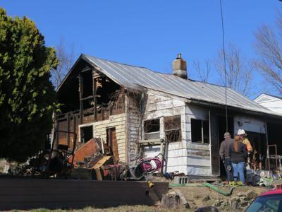 Grayson Avenue fire