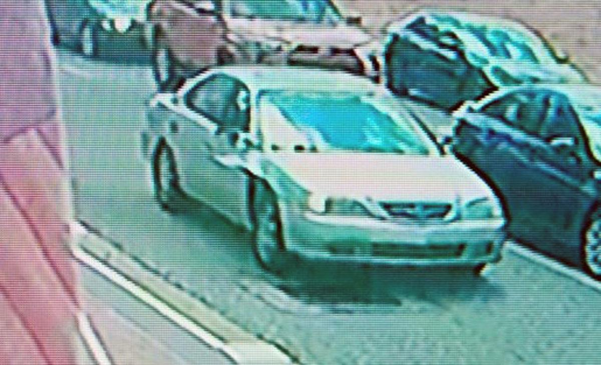 Hit-&-Run Suspect Vehicle - Gold Acura