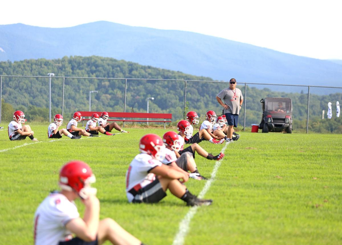 RHS football practice 2019