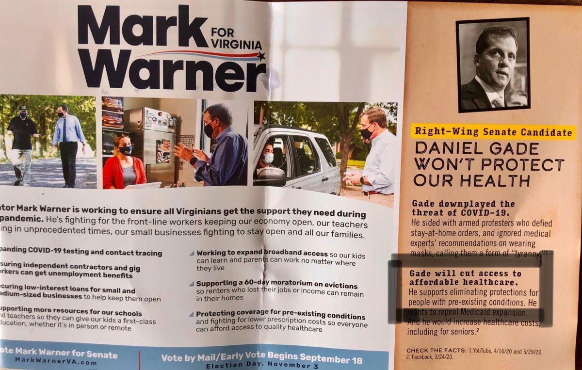 Mark Warner mailer