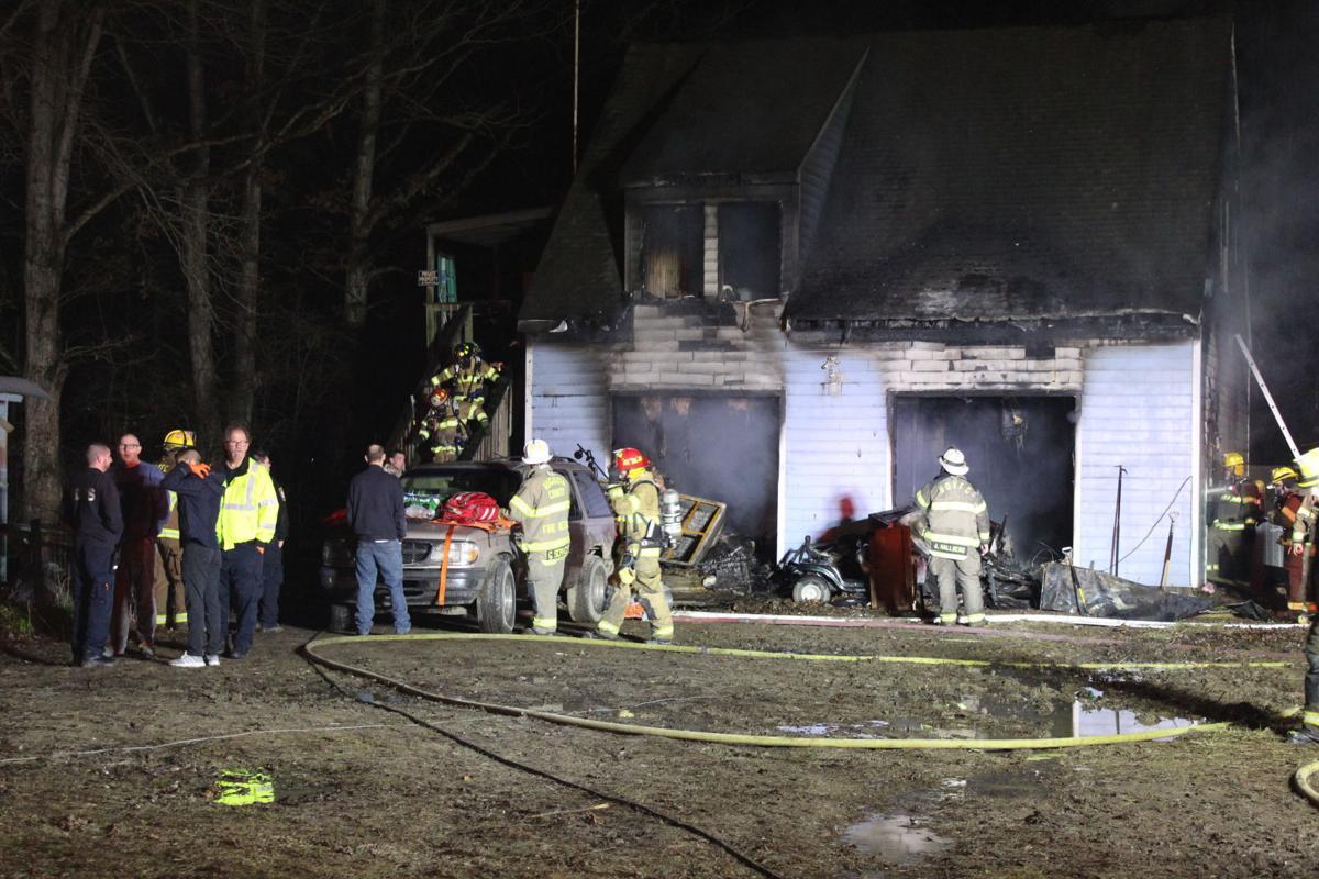 Stuarts Draft Garage Fire